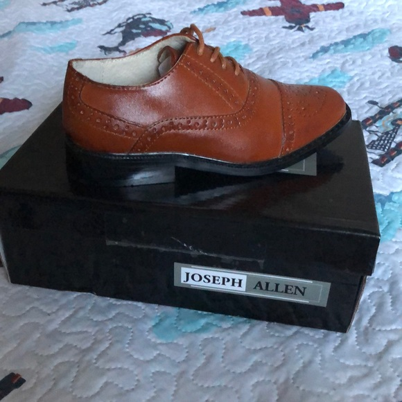 9786aea0d5ce Brand new Boys dress shoes. NWT. Joseph Allen